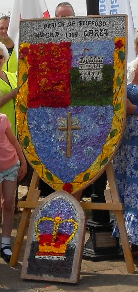 North Stifford 2015 - Village Green Well Dressings