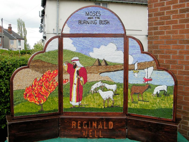 Waingroves 2015 - Reginald Well Dressing