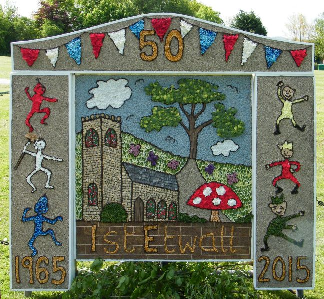 Etwall 2015 - Brownies Well Dressing