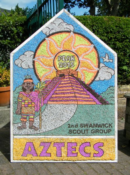 Swanwick 2015 - Scouts Well Dressing