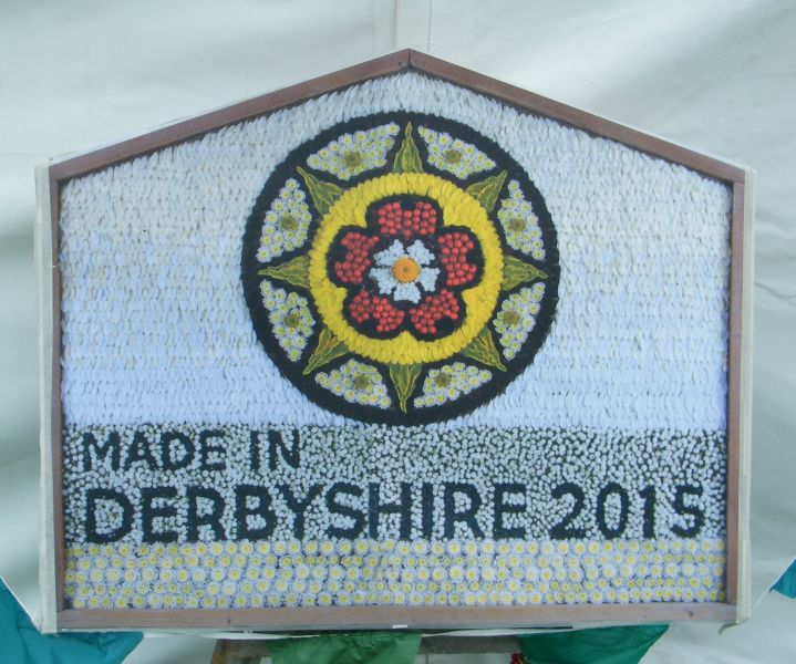 Kedleston Hall 2015 - Derbyshire Food & Drink Fair Well Dressing