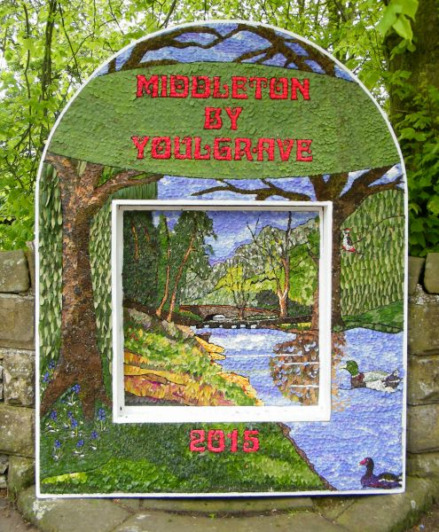 Middleton by Youlgrave 2015 - Village Well Dressing