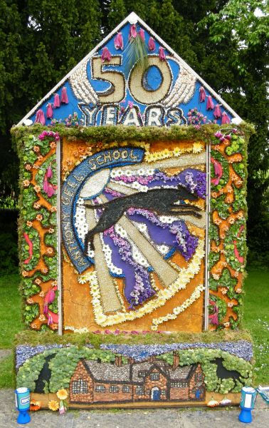 Wirksworth 2015 - Anthony Gell School Well Dressing