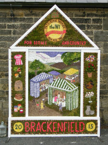Brackenfield 2015 - Village Well Dressing