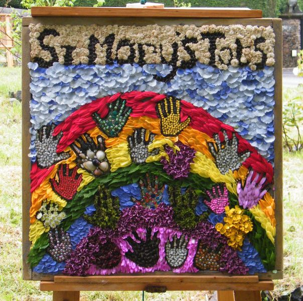 Disley 2015 - St Mary's Tots Well Dressing