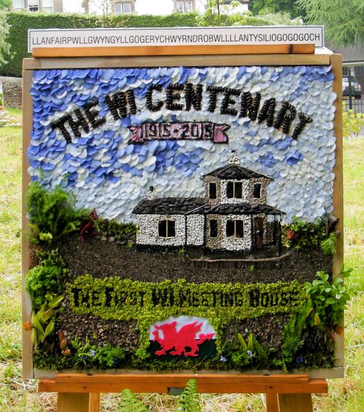 Disley 2015 - Disley Women's Institute Well Dressing
