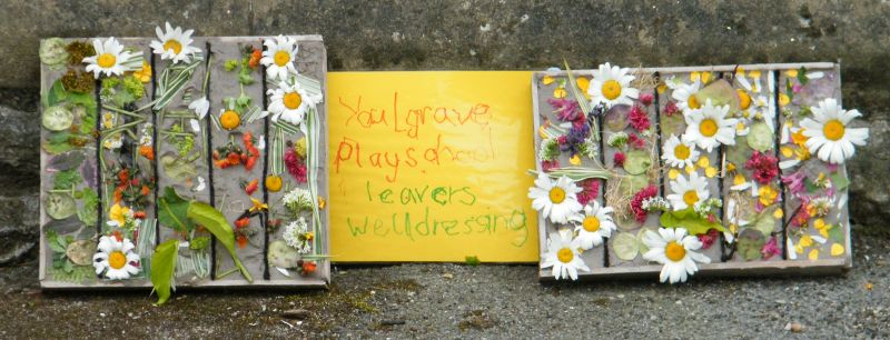 Youlgrave 2015 - Playgroup Well Dressings