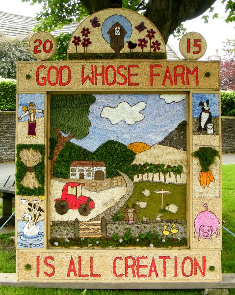 Litton 2015 - Children's Well Dressing