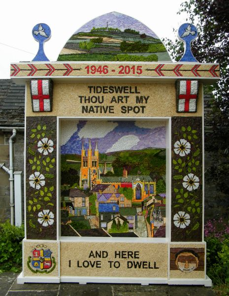 Tideswell 2015 - Village Well Dressing
