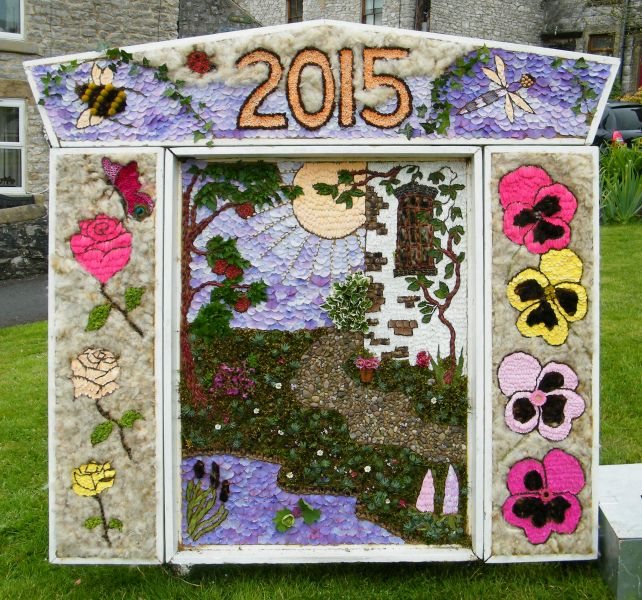 Tideswell 2015 - Community Well Dressing