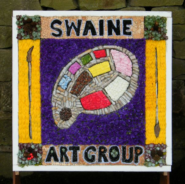 Hoylandswaine 2015 - Swaine Art Group Well Dressing