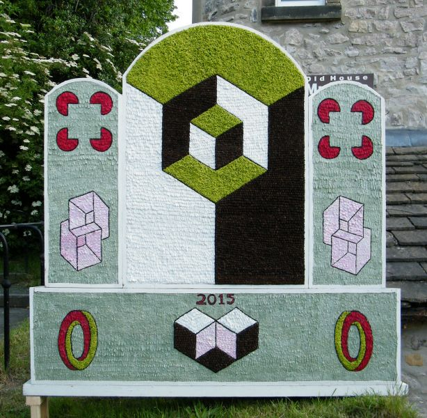 Bakewell 2015 - All Saints Church Well Dressing