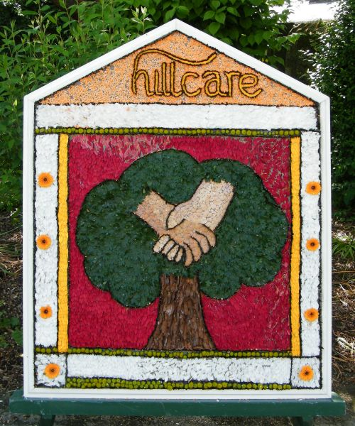 Bakewell 2015 - Buxton Road Well Dressing