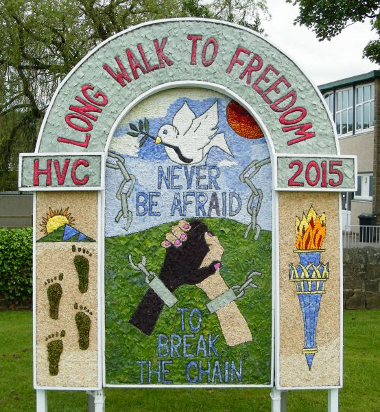 Hope 2015 - Hope Valley College Well Dressing