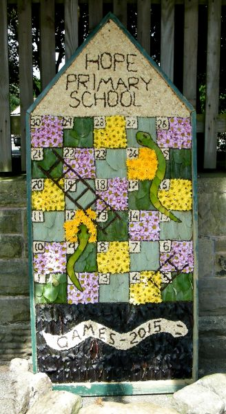 Hope 2015 - Hope Primary School Well Dressing
