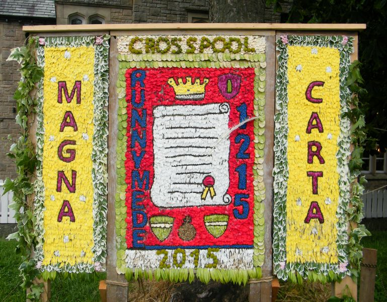 Crosspool 2015 - Crosspool Tavern Well Dressing