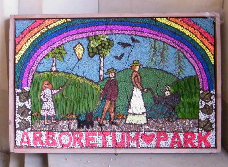 Derby 2015 - Local Studies Library Well Dressing