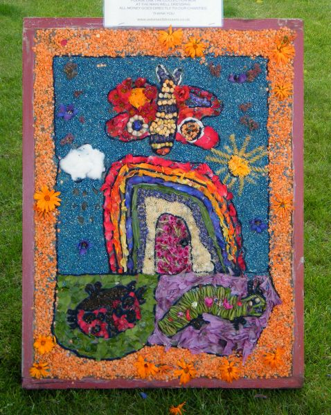Aston-upon-Trent 2015 - Pre-School Well Dressing