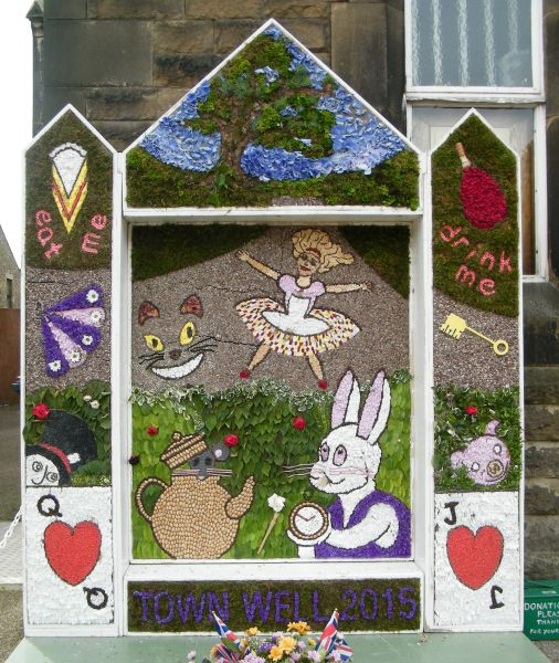 Chapel-en-le-Frith 2015 - Town Well Dressing