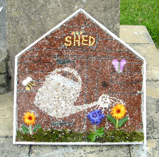 Wessington 2015 - Time Capsule Well Dressing
