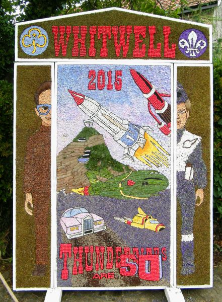 Whitwell 2015 - Village Square Well Dressing