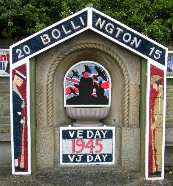Bollington 2015 - Greg Fountain Well Dressing