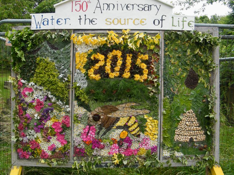 Burngreave Cemetery 2015 - Well Dressing