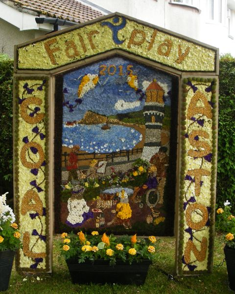 Coal Aston 2015 - Village Well Dressing