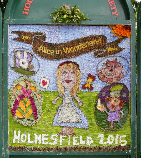 Holmesfield 2015 - Children's Well Dressing