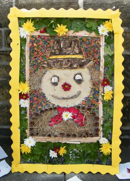 West Hallam 2015 - Village Pre-School Well Dressing