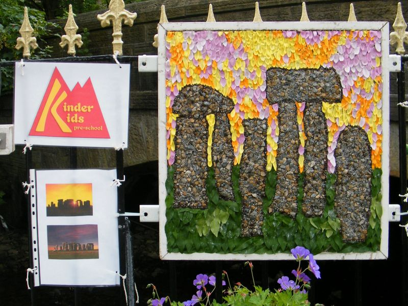 Hayfield 2015 - Kinder Kids Well Dressing