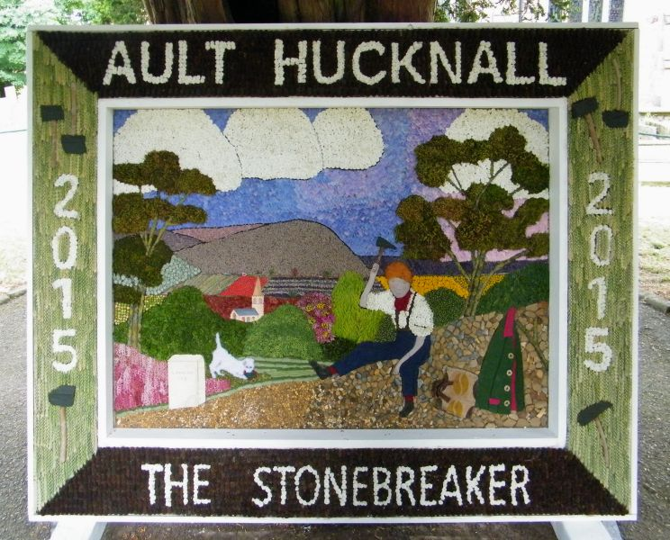 Ault Hucknall 2015 - Church Well Dressing