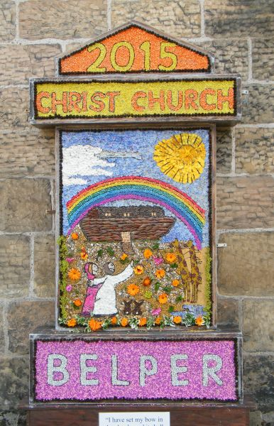 Belper 2015 - Christ Church Well Dressing