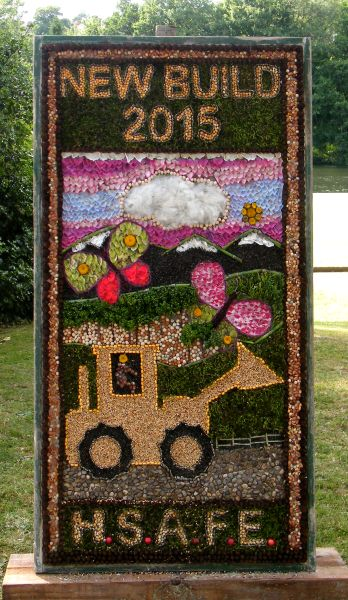 Belper 2015 - Holbrook School for Autism Further Education Department Well Dressing