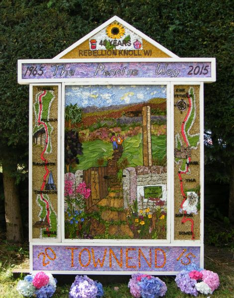 Bradwell 2015 - Town End Well Dressing
