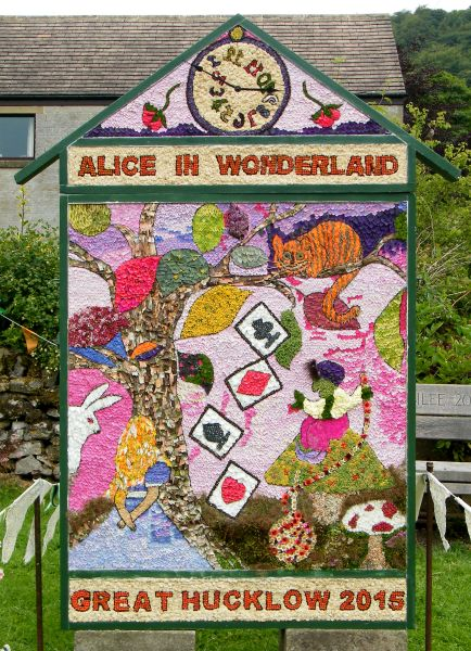 Great Hucklow 2015 - Village Well Dressing