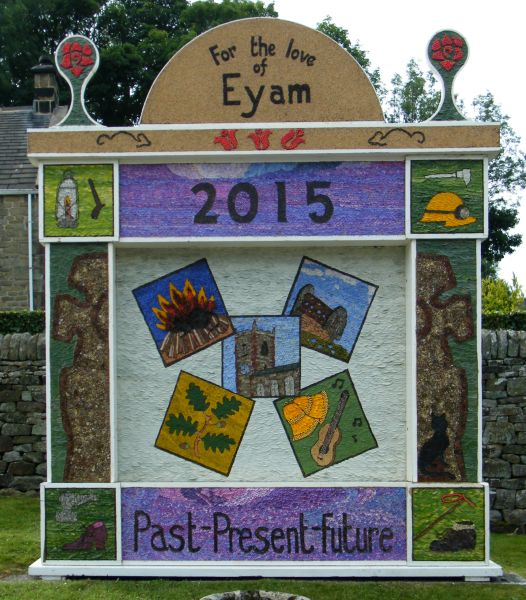 Eyam 2015 - Town End Well Dressing