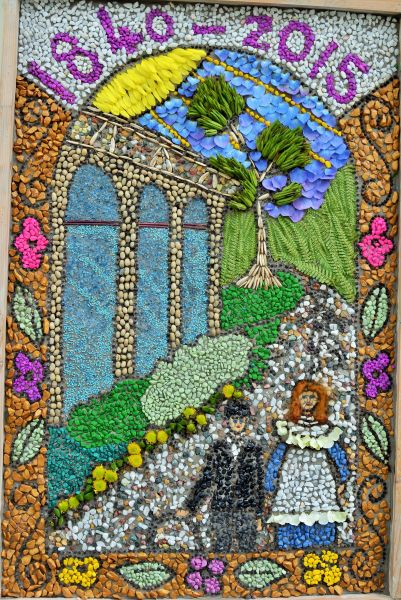 Derby 2015 - St James' Infant School Well Dressing