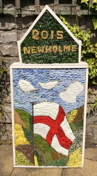 Newholme Hospital (Bakewell) 2015 - Stanton Day Hospital Well Dressing