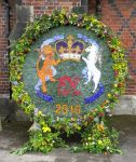 Ladies of West Hallam Round Well Dressing
