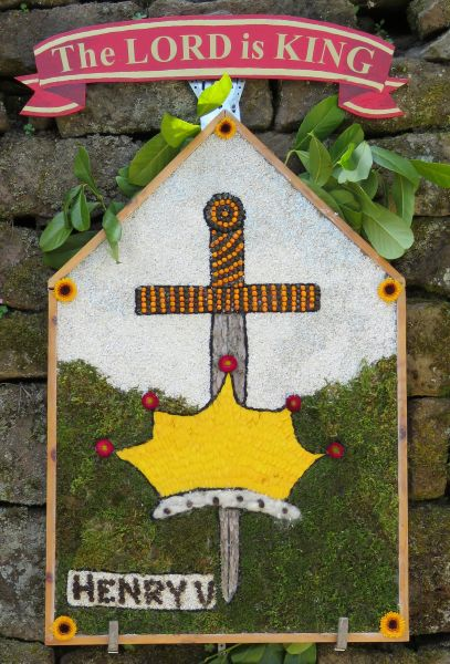 Milford 2016 - The Chevin Road Baptist Chapel Well Dressing