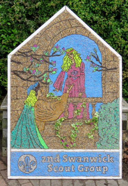 Swanwick 2016 - Scouts Well Dressing