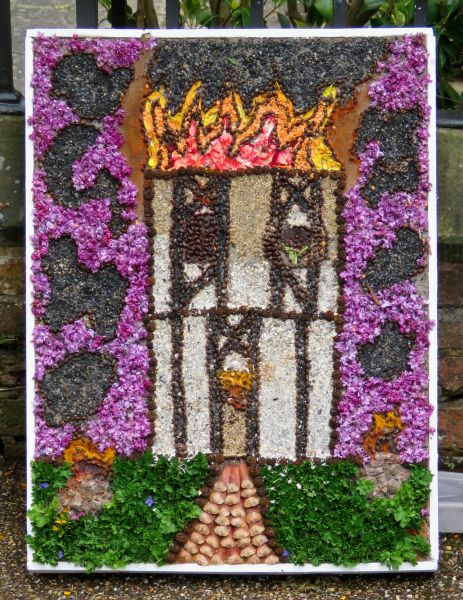 Etwall 2016 - Mill Meadow Way Children's Well Dressing