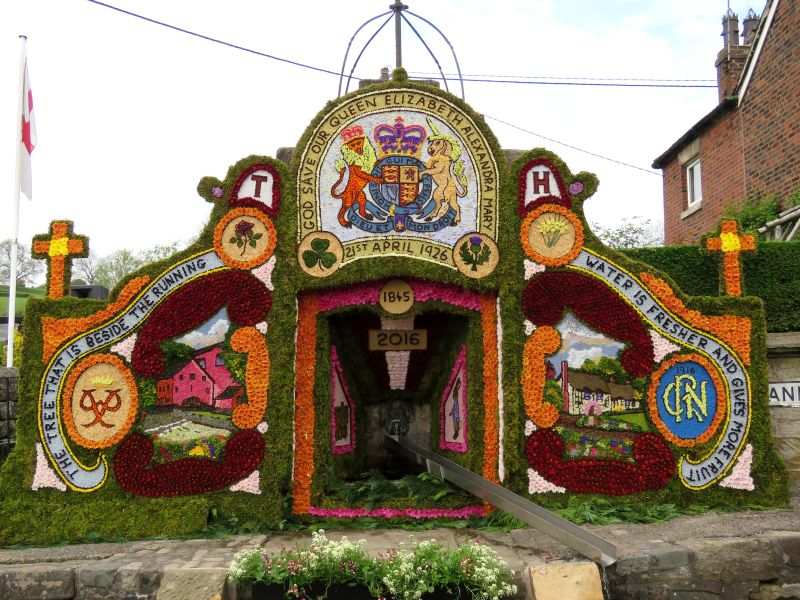 Endon 2016 - Village Fountain Well Dressing