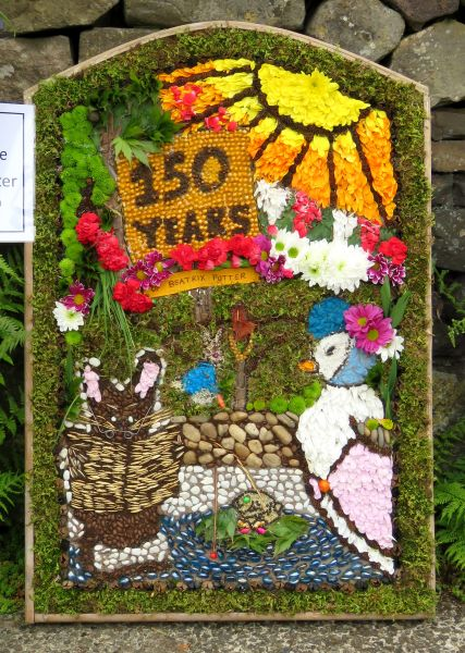 Endon 2016 - Endon High School Well Dressing