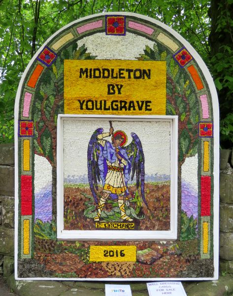 Middleton by Youlgrave 2016 - Village Well Dressing