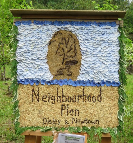 Disley 2016 - Neighbourhood Plan Disley & Newtown Well Dressing