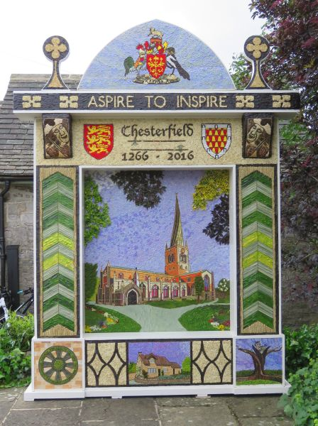 Tideswell 2016 - Village Well Dressing