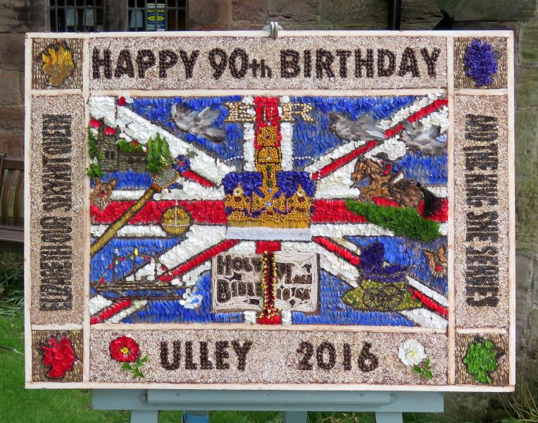 Ulley 2016 - Holy Trinity Church Well Dressing