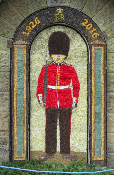 Rowsley 2016 - Main Well Dressing